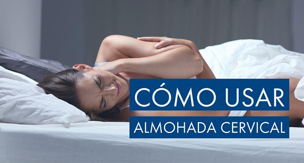 cómo usar almohada cervical